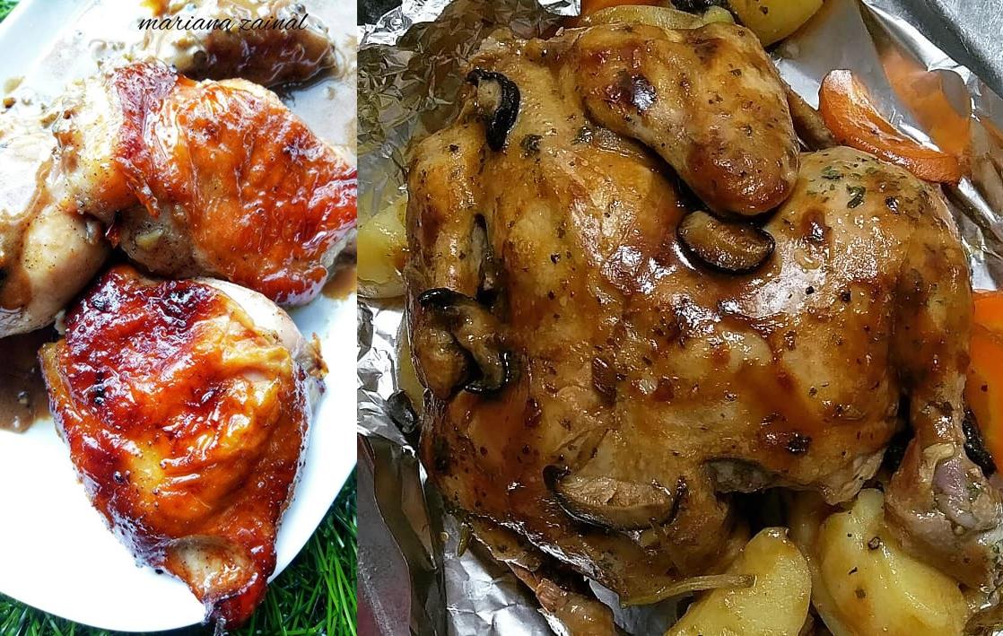 Resepi Ayam Bakar Pelbagai Style Iluminasi