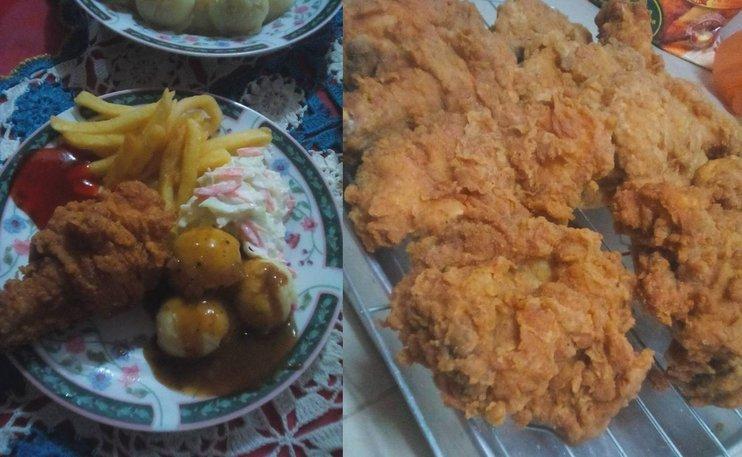Resepi Ayam Goreng Ala Restoran Makanan Segera Terkenal