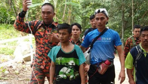 Azarul Mukhriz dijemput ke alam bunian ketika hilang di Bukit Broga
