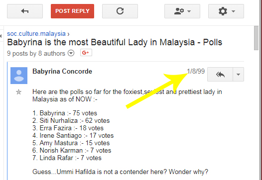 babyrina poll