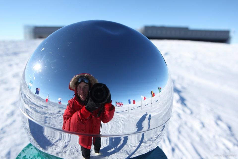 bagaimana bekerja di kutub selatan