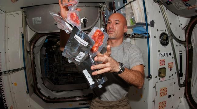 bagaimana cara angkasawan makan di angkasa lepas 4