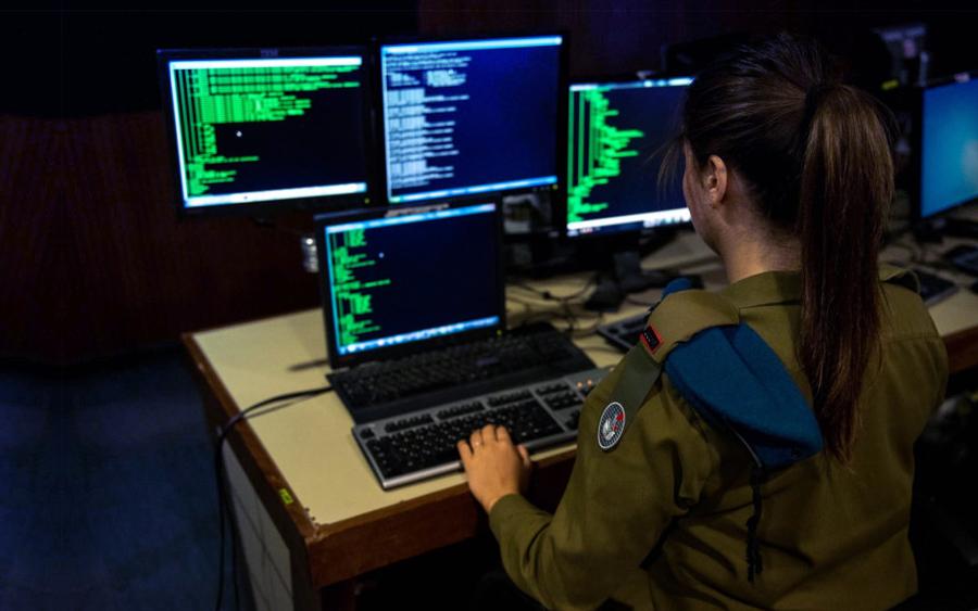 bagaimana israel boleh power perang siber atas talian
