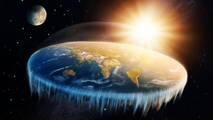 bagaimana kehidupan seharian kita jika bumi benar benar rata