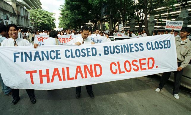 bagaimana krisis ekonomi asia 1997 1998 bermula