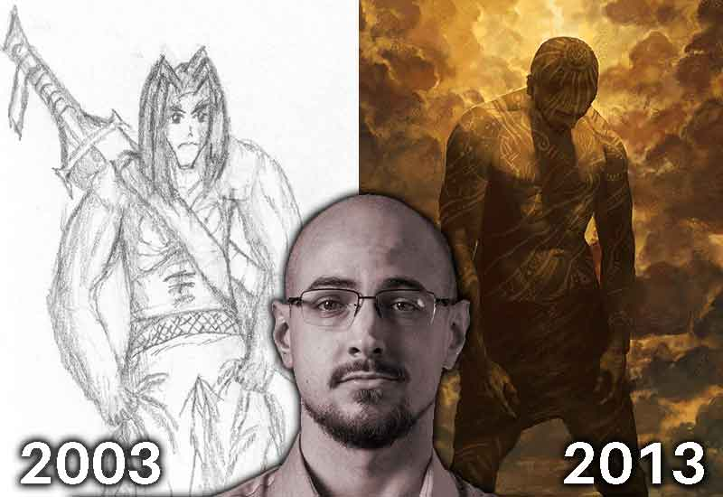 bagaimana saya berubah menjadi seorang pelukis professional dalam tempoh 10 tahun 49085