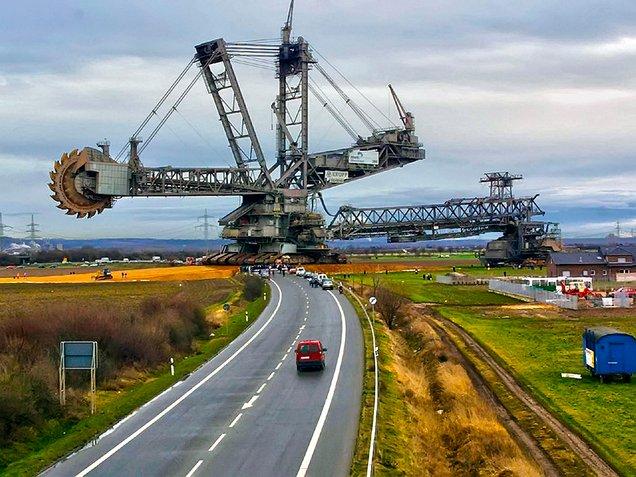 bagger 293 mesin ciptaan manusia paling besar di dunia 67777