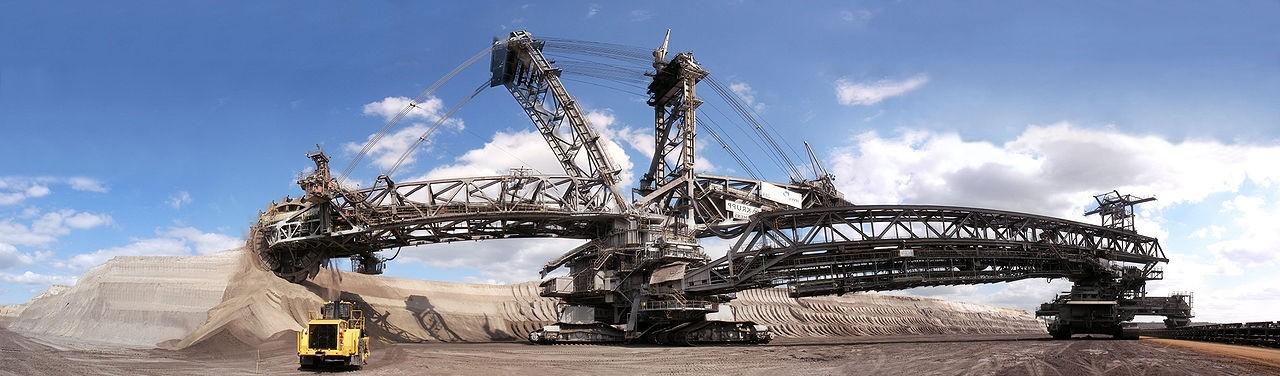 bagger 293 mesin ciptaan manusia paling besar di dunia