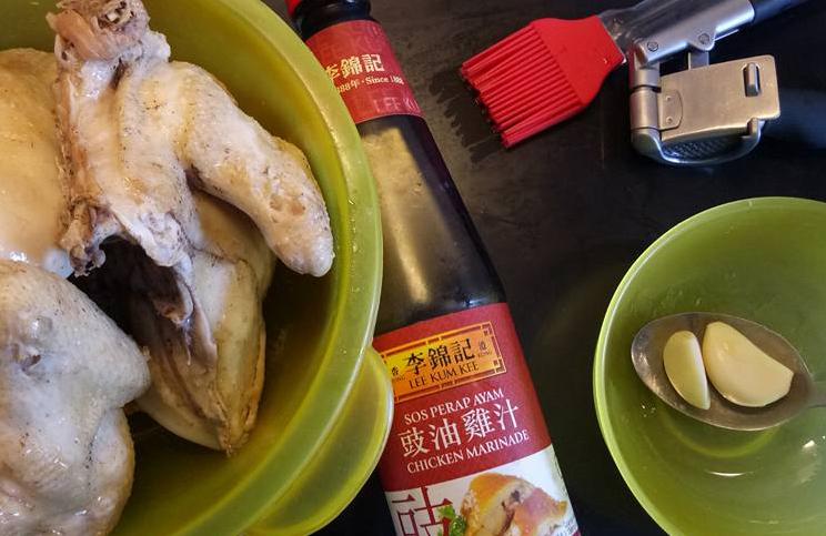 bahan bahan perapan ayam