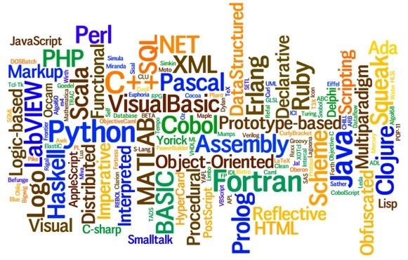 bahasa bahasa programming lain yang digunakan