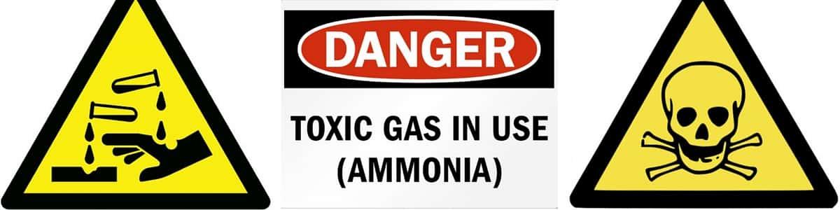 bahaya gas ammonia