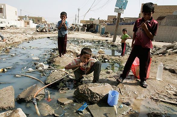 bahgdad bandar paling kotor di dunia