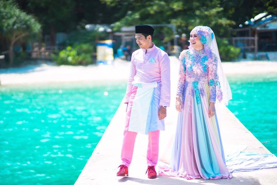 baju pengantin paddle pop jadi bualan hangat para netizen 3 412