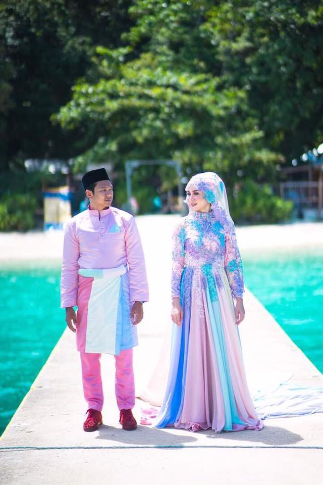 baju pengantin paddle pop jadi bualan hangat para netizen 4