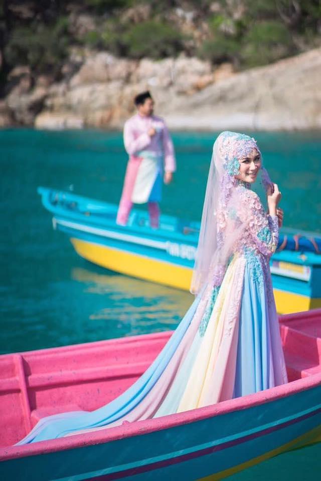 baju pengantin paddle pop jadi bualan hangat para netizen 6 342