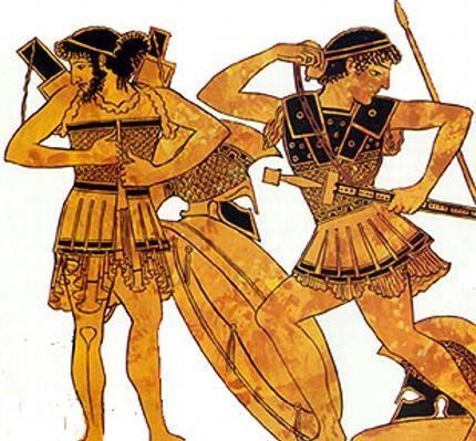 baju perisai linothorax greek