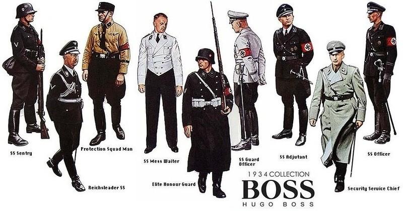 baju seragam dibuat oleh hugo boss