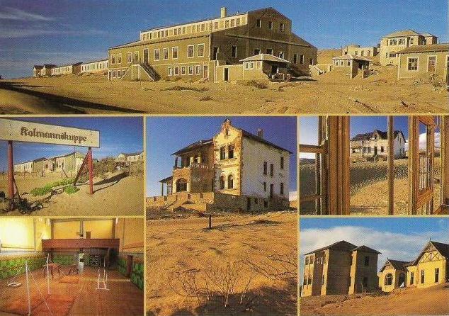 bandar hantu kolmanskop namibia