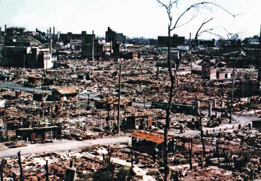 bandar hiroshima setelah dibom