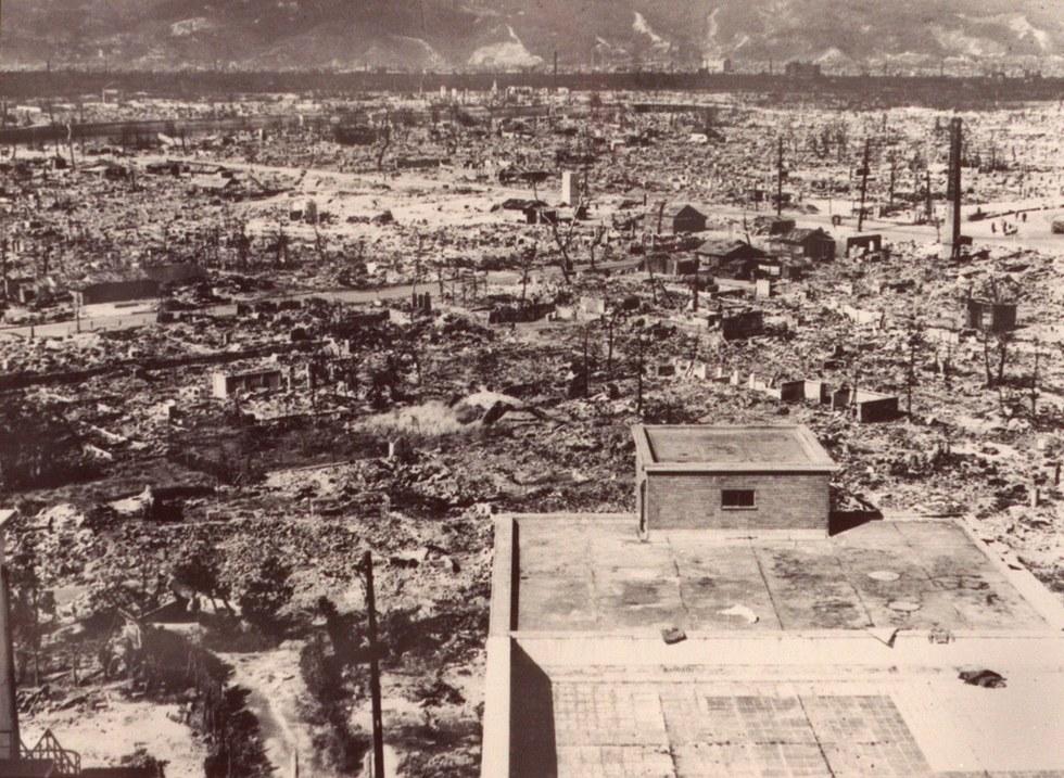 bandar hiroshima yang musnah