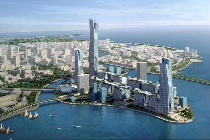 bandar neom arab saudi
