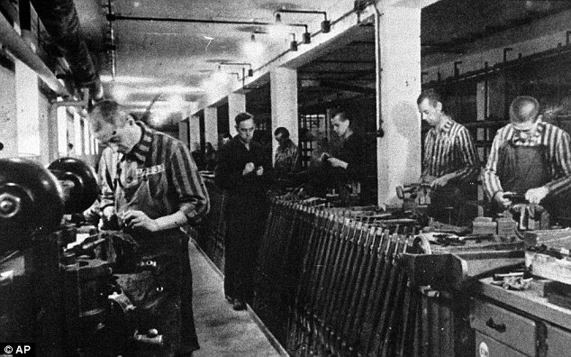 banduan di kem tahanan nazi