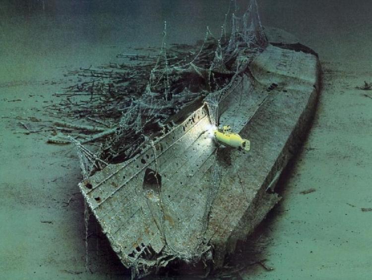 bangkai kapal rms lusitania