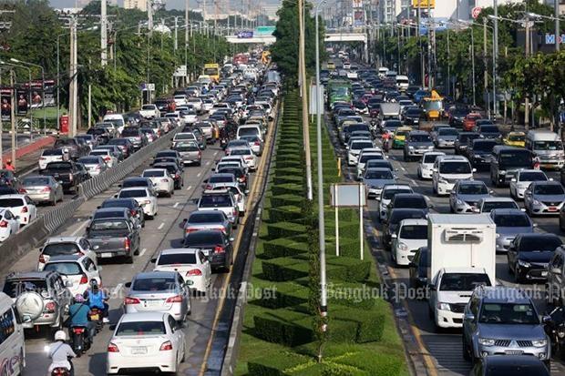 bangkok trafik sesak paling teruk dalam dunia