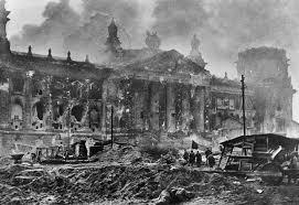 bangunan reichstag terbakar