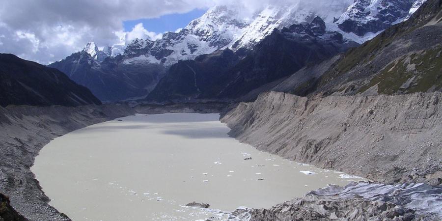 banjir akibat pencairan glasier