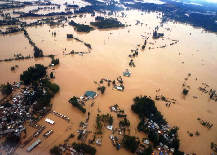 banjir besar tenggelam bandar