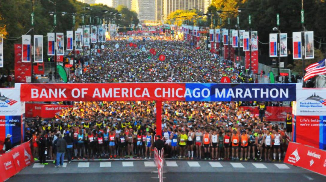 bank of america chicago marathon menawarkan antara hadiah paling lumayan di dunia