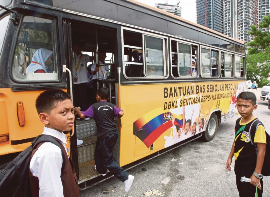 bantuan bas sekolah