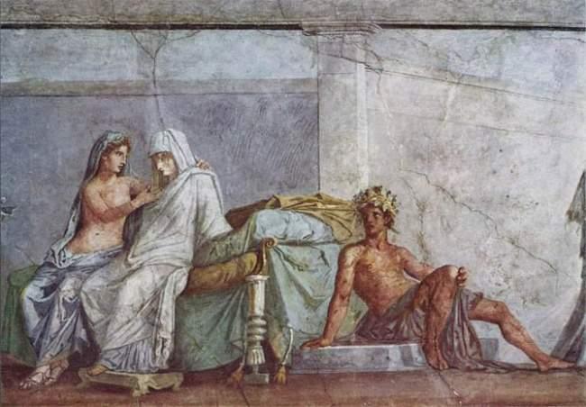 bapa dan anak perempuan di zaman rom kuno