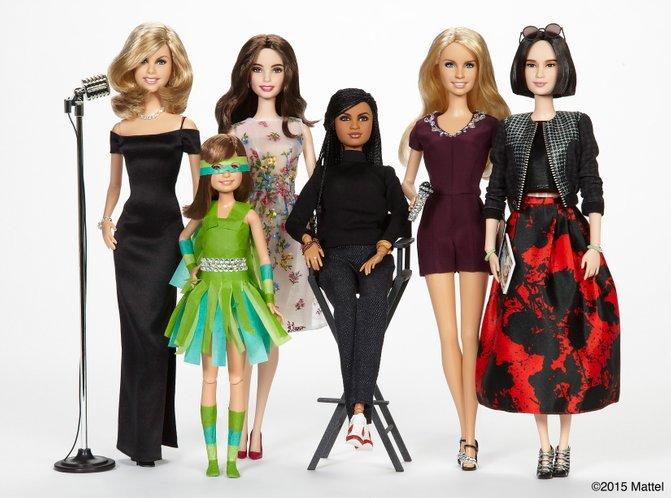 barbie koleksi sheroes