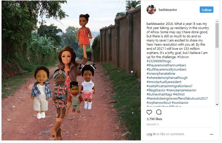 barbie savior pantang larang selfie bersama orang susah negara mundur