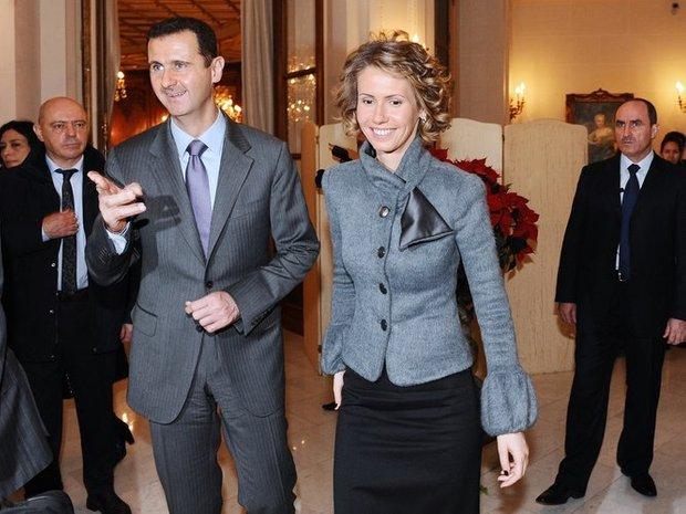 bashar assad orang kaya yang tidak disenaraikan forbes bersama isteri asma assad