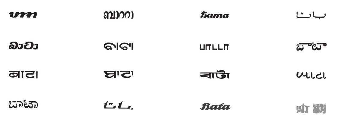 bata diterjemahkan kepada 14 bahasa