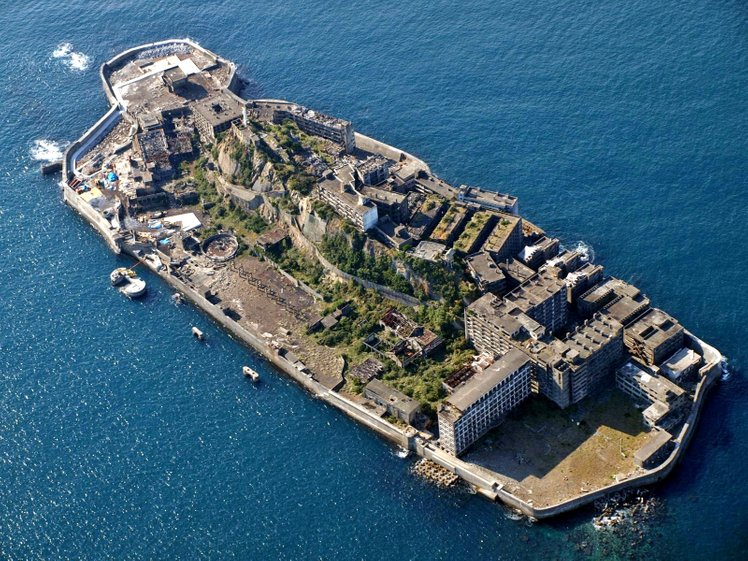 battle ship island nagasaki japan