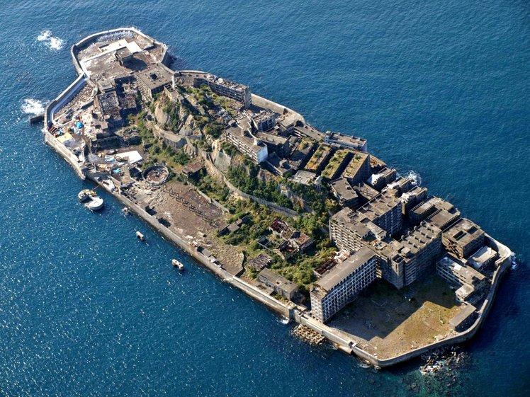 battle ship island nagasaki japan