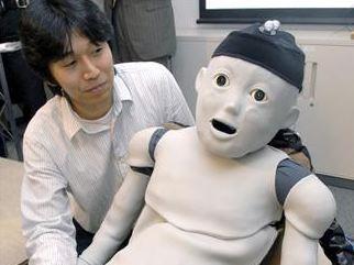 bayi diperbuat robot