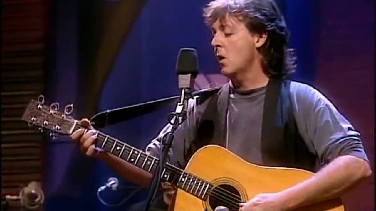 beatles paul mccartney unplugged