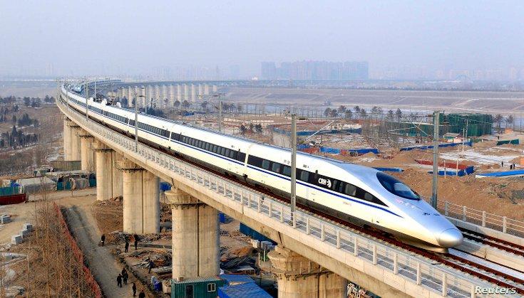 beijing guangzhou kereta api laju china