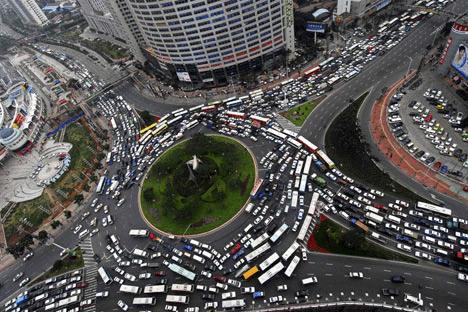 beijing trafik sesak paling teruk dalam dunia