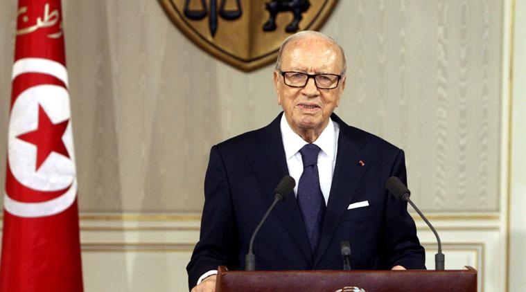 beji caid essebsi pemimpin paling tua di dunia