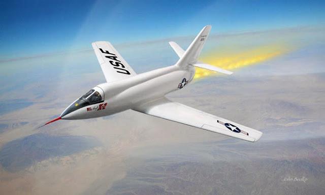 bell x 2 starbuster 5 pesawat paling laju di dunia