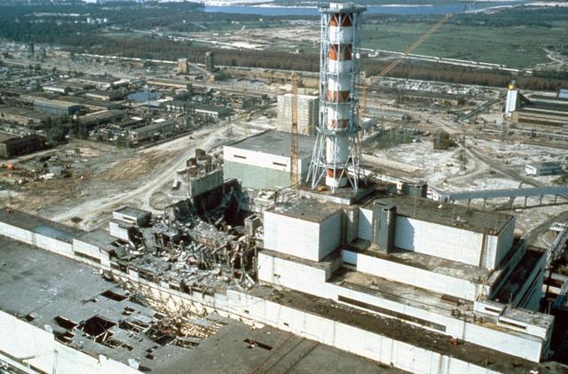 bencana di pusat janakuasa chernobyl