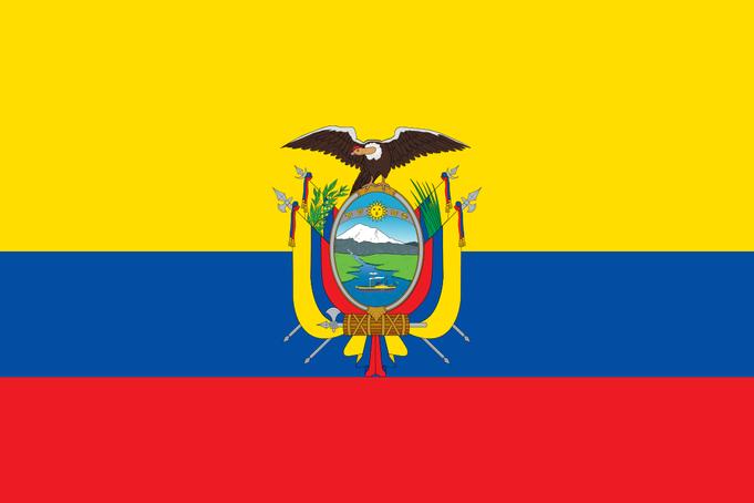 bendera ecuador