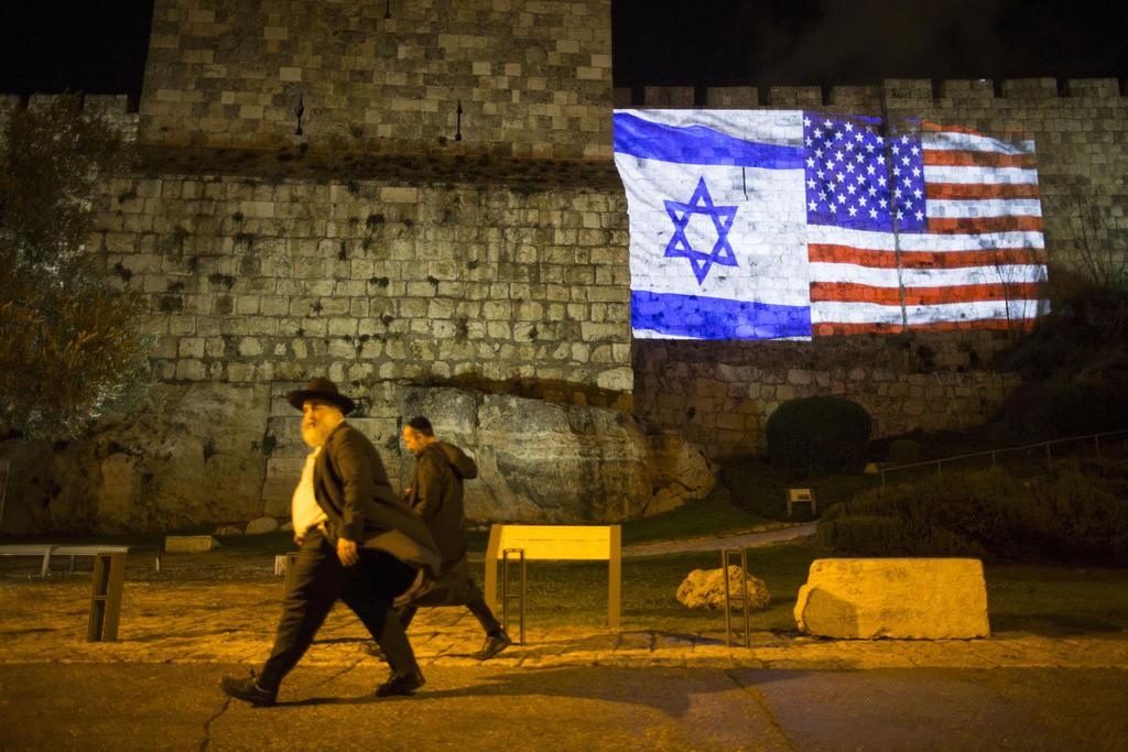 bendera israel dan amerika syarikat