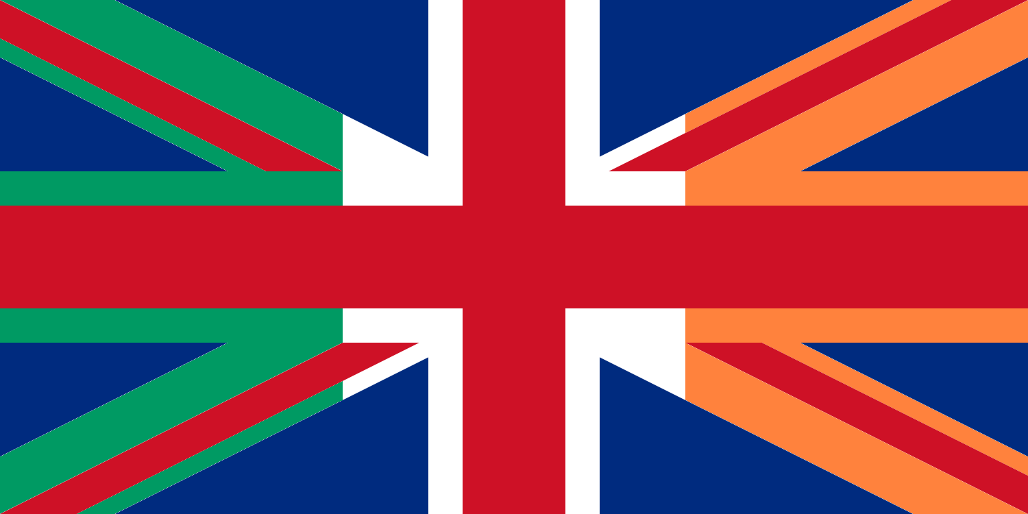 bendera kepulauan british